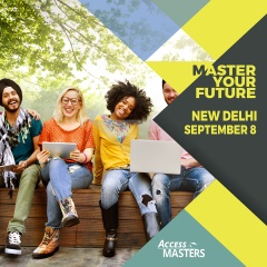 Meet top international Master's programmes in New Delhi on September 8th