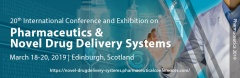 20th International Conference and Exhibition on Pharmaceutics & Novel Drug Delivery Systems