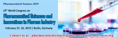 19th World Congress on Pharmaceutical Sciences & Innovations in Pharma Industry